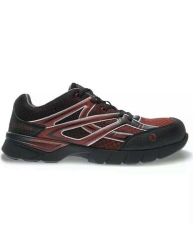 size 13M CarbonMax toe sneaker W10674 New Black Red Details about  /MENS WOLVERINE JETSTREAM