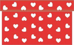 1-Tischlaeufer-Love-in-Rot-aus-Linclass-Airlaid-40-cm-x-4-80-m-Tischband-Herz