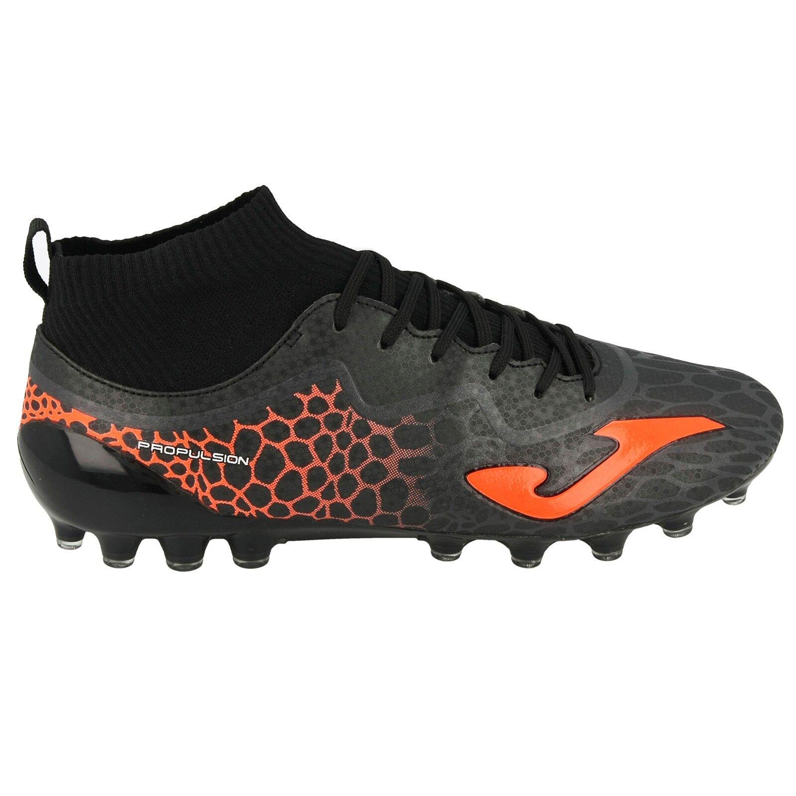 Joma zapatos Calcio hombres - Propulsion 4.0 801 negro Artificial Grass