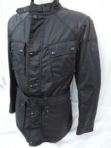 Leather New Speedmaster Black once Orig Cotton Label 6 Belstaff Zw1Tq0xPE