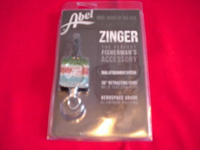 Abel Super Fishermans Zinger RAINBOW TROUT GREAT NEW