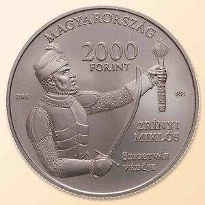"Hungary 2000 forint 2016 /""Castle of Szigetvar/"" BU"