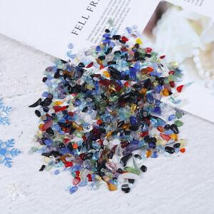 100g-Natural-Chip-Stone-Irregular-Shape-Obsidian-Tourmaline-Gravel-Loose-Ston-PN