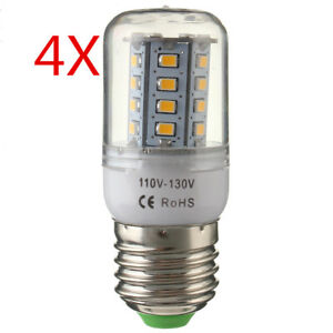 4x-E27-9W-2835SMD-30LED-Warm-White-Home-Corn-Energy-Saving-Lamp-Light-Bulb-110V