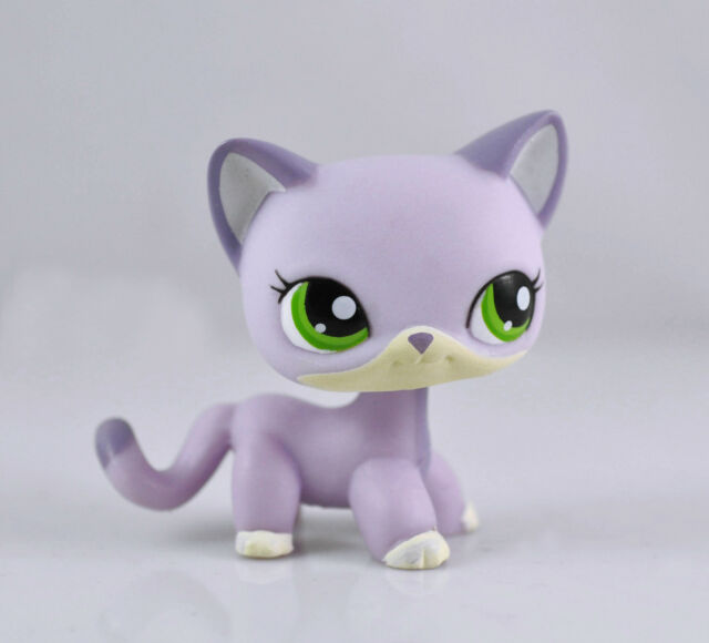 Littlest Pet Shop Cat Child Girl Figure Toy Loose LPS847