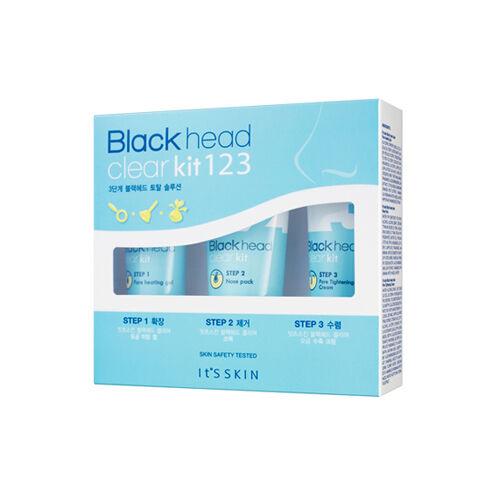 [It'S SKIN] Black Head Clear Kit 123 - 3items