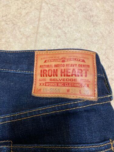 IRON HEART 17oz Selvedge Denim Super Slim Jeans -