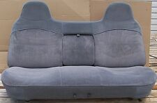 92 93 94 95 96 FORD F150 F250 97 F350 BENCH SEAT GRAY - CLEAN & VERY NICE!