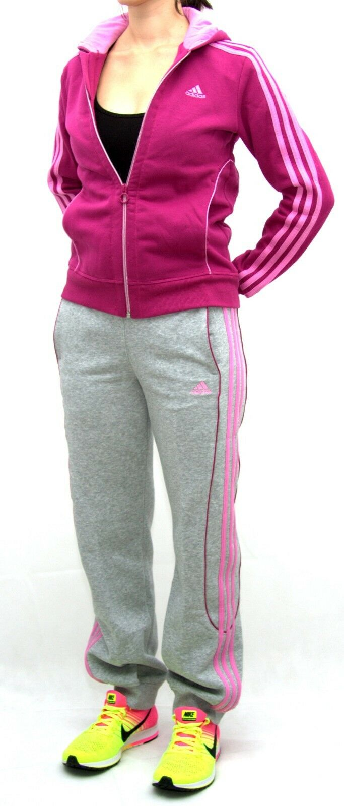 Adidas Damen CO Trainingsanzug YG S HD CO Damen TS  Sportanzug Gr. 152   L 472be0