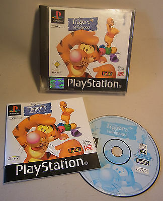 Sony Game Spiel Playstation 1 One PS Tigger´s Honigjagd