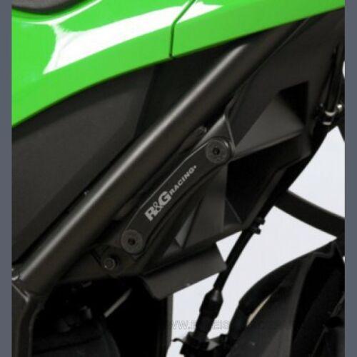 R/&G Fußrastenabdeckung Kawasaki Ninja 250 300 2013 Foot Rest Blanking Plate