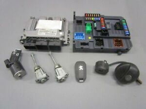 Peugeot-208-1-4-HDI-ECU-ENGINE-9805947580-0281019820-Lock-Set