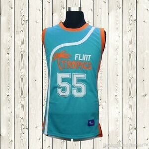 Vakidis Basketball Jersey  55 Flint Tropics Movie Semi Pro Stitched ... 387dc235f