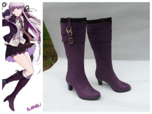 Danganronpa Dangan Ronpa Kirigiri Kyoko Cosplay Costume Boots Boot Shoes Shoe