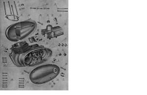 JAWA-356-175-ccm-Motore-gt-25-Inbus-Schrauben-Set-19-lt-Normteile-Satz-NEU