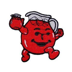 Hey kool aid man logo iron on or sew on patch emblem red koolaid image is loading hey kool aid man logo iron on or sciox Choice Image