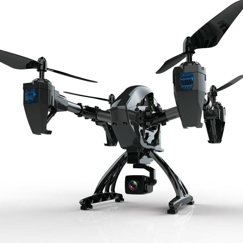 Retención de aititude 2.4G WIFI RC Quadcopter 6-Axis Gyro 2MP HD Vista en primera persona nos helicóptero teledirigido