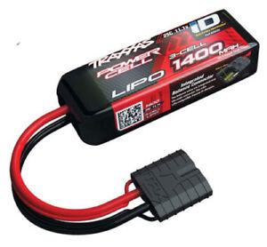 Traxxas-2823X-11-1V-3S-ID-de-1400mAh-de-3-Celdas-Lipo-Bateria-Traxxas-1-16-VXL-Sin-escobillas
