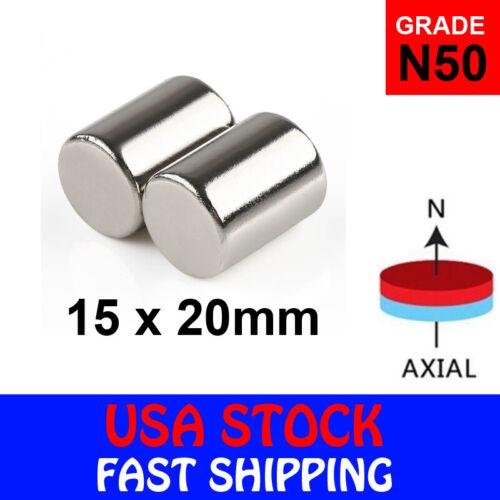 N50 Block Cuboid Rare Earth Neodymium Mini Fridge Strong Magnets Various Sizes