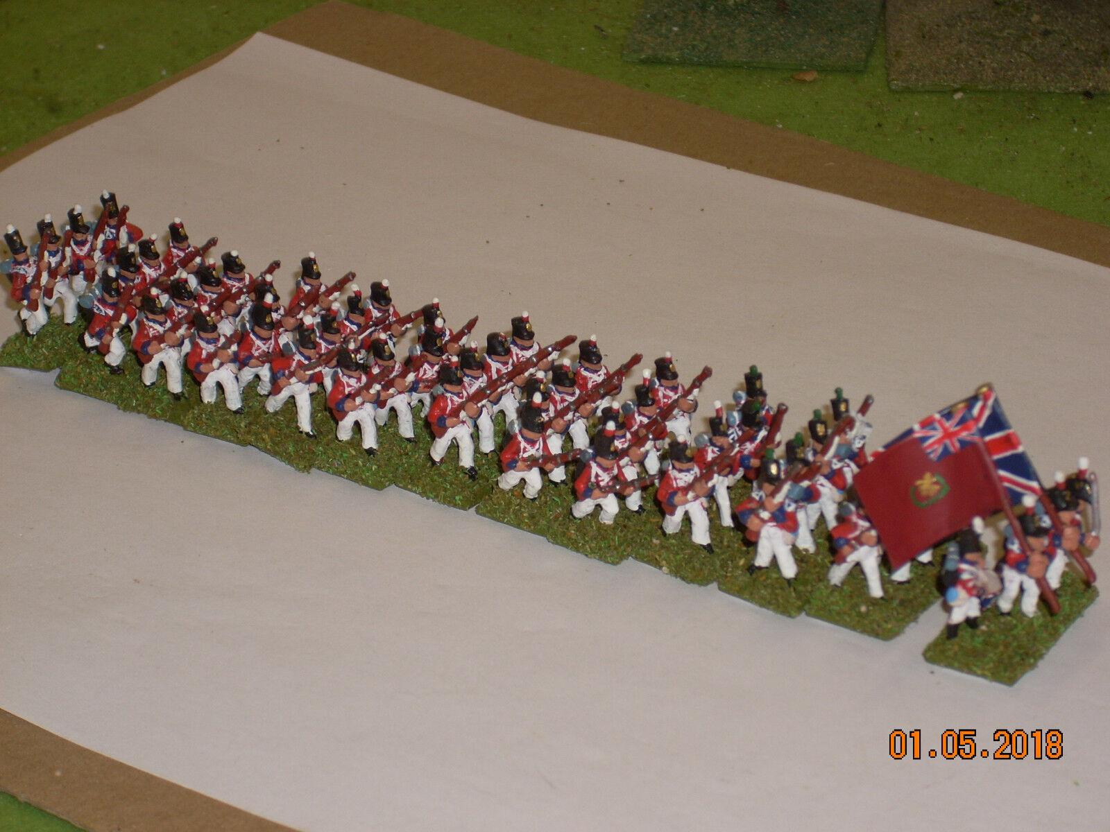 15mm Napoleonic British 3rd Battalion, 1st Foot Guards, Peninsula campaign
