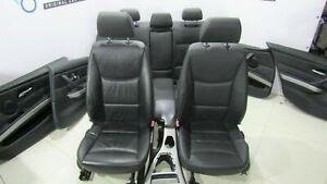 BMW-OEM-Rhd-e90-Asientos-Cuero-Dakota-Negro-Lcsw