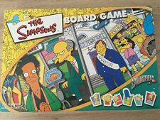 THE SIMPSONS - SPRNGFIELD - FAMILY BOARD GAME - EXCELLENT