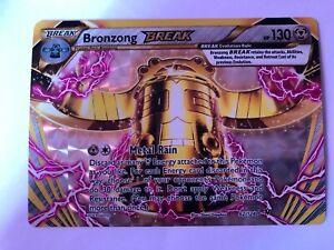 Pokemon-Bronzong-Break-62-124-Rare-Holofoil-Mint-Card