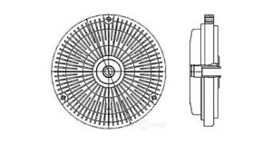 Engine-Cooling-Fan-Clutch-fits-1994-1997-Mercedes-Benz-C280-C36-AMG-BEHR-HELLA