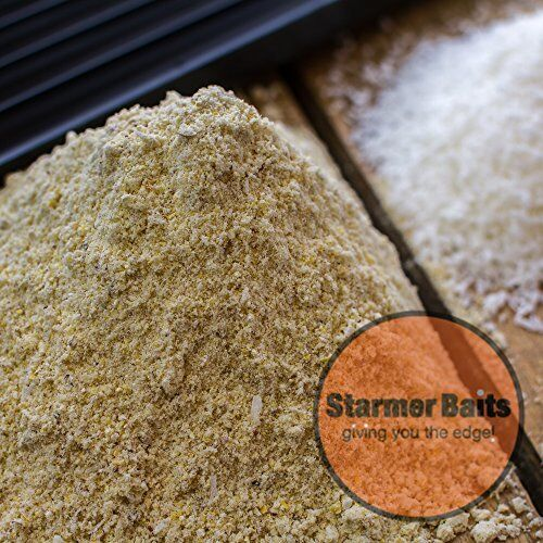Coconut protein boilie base mix for bait making and rolling.