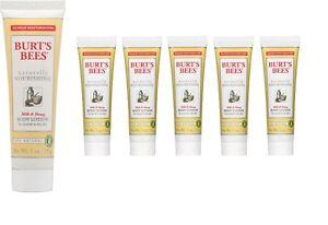 Burt-039-s-Bees-Naturally-Nourishing-Milk-and-Honey-Body-Lotion-Lot-of-6-1-oz-each