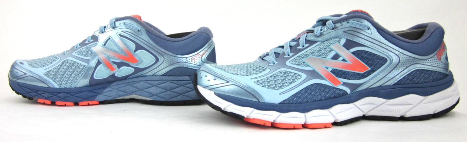 entrega de rayos New balance 860v6 Mujeres Tenis para Correr Correr Correr nos Azul Claro 11.5D ancho cerca de MINT   diseños exclusivos