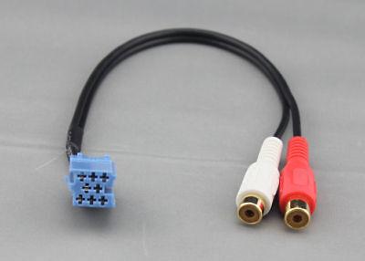 Alpine cambiador de CD a de Phono RCA Adaptador Para Reproductor De Mp3