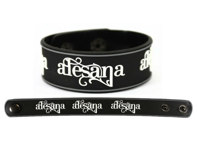 ALESANA Rubber Bracelet Wristband Fatima Rusalka The Decade The Emptiness