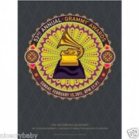53rd Anniversary Grammy Awards Poster Free Shipping By Koike Art Collectable