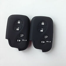 2 Black Keyless Smart Key Cover Remote for Lexus GS430 GS300 IS350 IS250 LS460