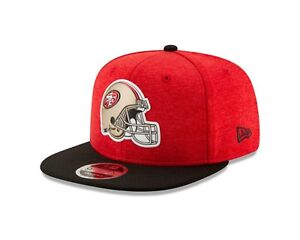 San Francisco 49ers New Era HELMET Snapback 9Fifty Original Fit NFL ... a94cb26a390e