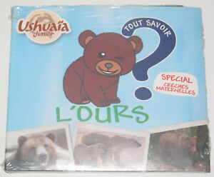 Histoires-a-Ecouter-CD-L-039-Ours-Creches-Maternelles-NEUF