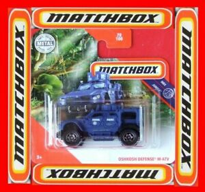 MATCHBOX-2020-OSHKOSH-DEFENSE-M-ATV-POLICE-70-100-NEU-amp-OVP