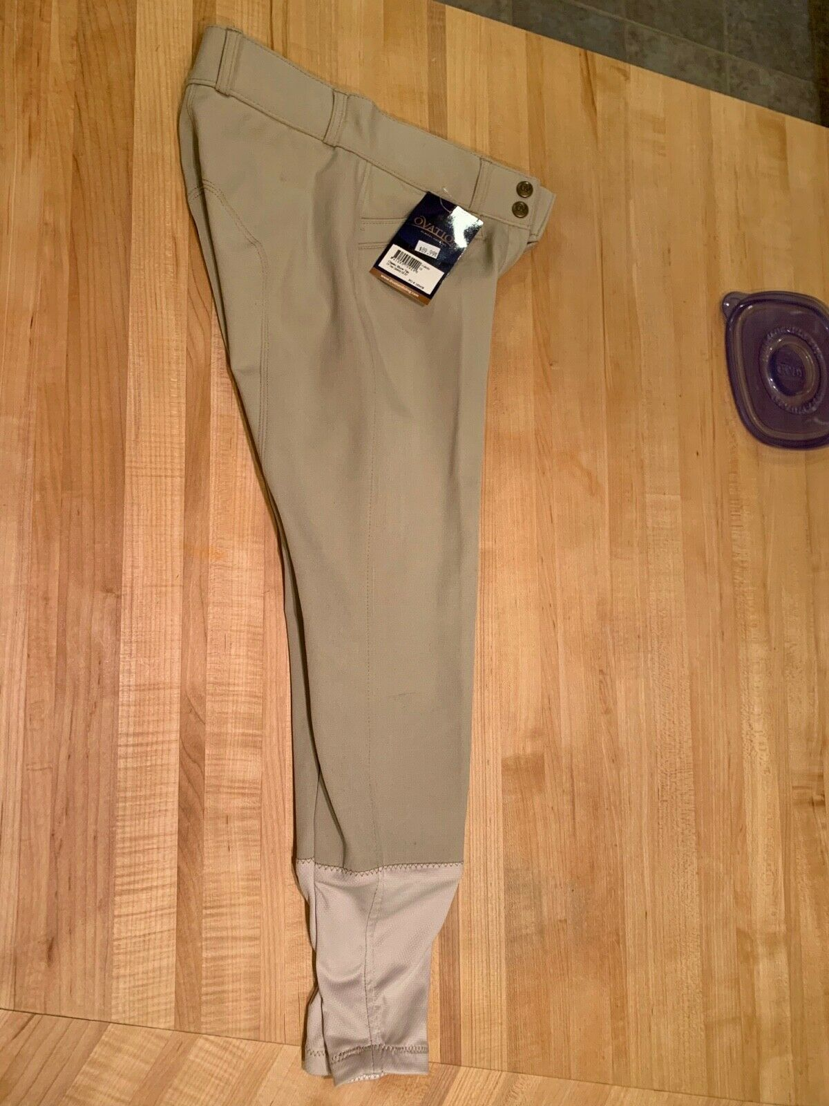 Ovation® Teen Celebrity EuroWeave™ DX Euro Seat Knee Patch Breeches Diuominiione 16