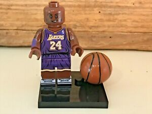 MINI FIGURINE TYPE LEGO NBA BASKET BRYANT LAKERS