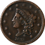 thumbnail 1 - 1838 Large Cent Great Deals From The Executive Coin Company