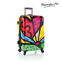 Heys Romero Britto Luggage 26 A Day Fashion Hardside Spinner Suitcase