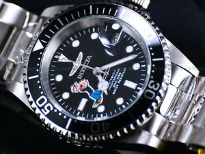 NEW-Invicta-Mens-40mm-Limited-Edition-Pro-Diver-POPEYE-Automatic-Black-SS-Watch