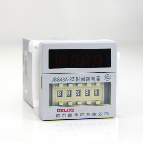 NEW DELIXI JSS48A-2Z Time relay