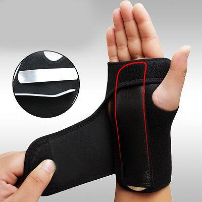 Wrist Support Hand Brace Band Carpal Tunnel Splint Arthritis Sprains Useful