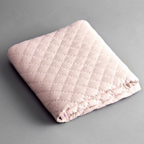 NEW Diamond Blush Linen Cot Quilt Girl/'s by MADREPERLA