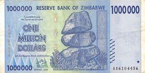 Circulated Vf 10 20 50 100 Trillion