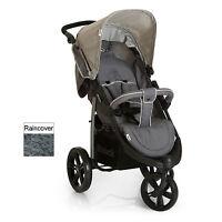 Hauck Viper Slx 3 Wheel Pushchair Stroller Smoke / Grey Suitable From Birth