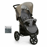 Hauck Viper Slx 3 Wheel Pushchair Stroller Smoke / Grey Suitable From Birth