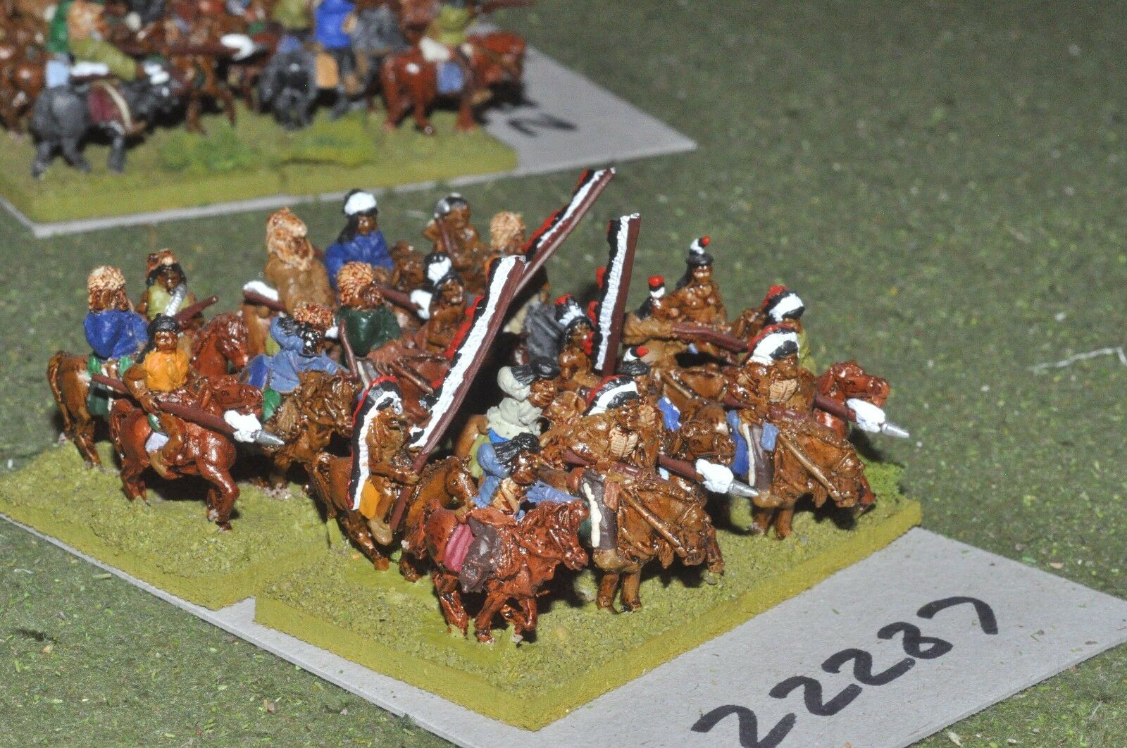 15mm ACW   indian - old west warriors 20 figures cavalry - cav (22287)